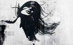 Picture light, girls, art