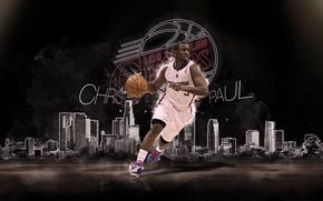 Picture Sport, Basketball, NBA, Los Angeles, Los Angeles Clippers, Chris Paul, Chris Paul, The clippers