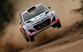 Picture Jump, Hyundai, Mexico, WRC, Rally, i20, 2015