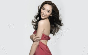 Picture girl, model, singer, Asian, Lin Chi-Ling