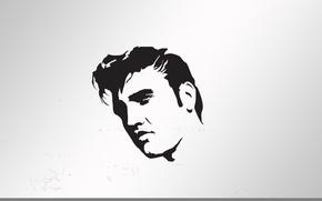 Picture music, Elvis, portre, popart