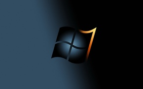 Picture logo, windows, operating, system, brand