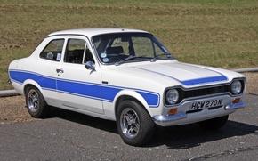 Picture Ford, White, MK1, Escort