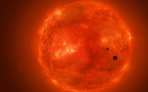 Picture space, planet, The sun