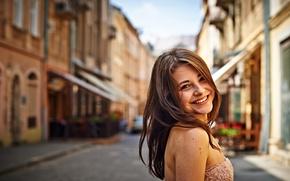 Picture smile, portrait, Dana