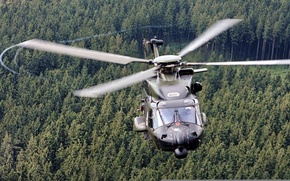 Picture forest, Eurocopter, NH90, NHI, multi-purpose helicopter, NHIndustries