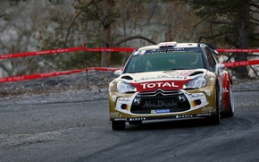 Picture Turn, Citroen, DS3, WRC, Rally, Rally, Monte Carlo, Kris Meeke