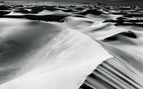 Wallpaper black, desert, white, sand
