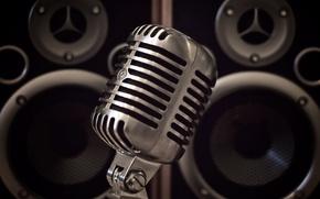 Wallpaper dynamics, sound, acoustics, music, microphone