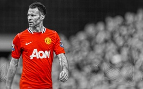 Picture Ryan Giggs, The Legend, Manchester United