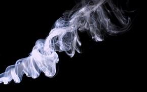Picture black, smoke