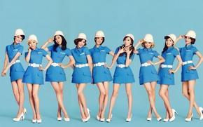 Picture music, girls, Asian girls, SNSD, Girls Generation, South Korea, Kpop