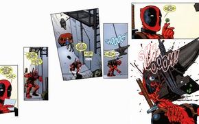 Picture Deadpool, Marvel, Deadpool, comic, comics, Wade Wilson, Marvel, Wade Wilson
