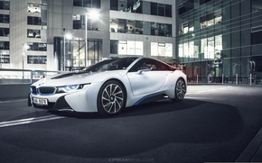 Picture BMW, white, Ciprian Mihai, address third-party resource