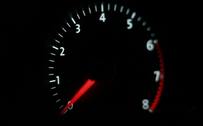 Picture speed, devices, Tachometer, the instrument ponel