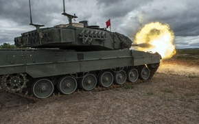 Picture weapons, tank, Leopard 2