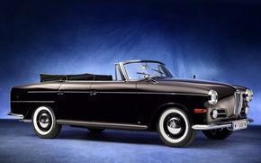 Picture retro, BMW, BMW, 1960, Beha, Cabriolet, 502, Autenrieth
