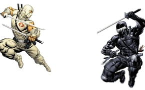Picture weapons, sword, ninja, G.I. Joe, Cobra