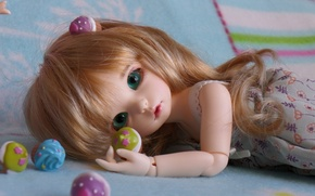 Picture hair, toys, doll