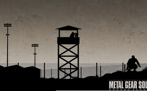 Picture fan art, kojima productions, naked snake, Metal Gear Solid: Ground Zeroes