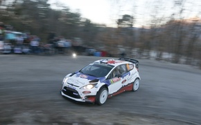 Picture Ford, Ford, WRC, Rally, Rally, Fiesta, Fiesta, Monte Carlo, Bryan Bouffier