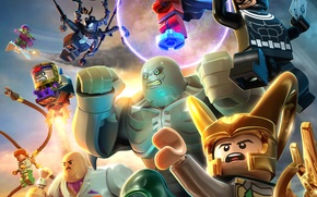 Picture LEGO: Marvel Super Heroes, toys, Mystic, TT Games, Mystic, Dr. Doom, Bullseye, Kingpin, Tagged, Otto …
