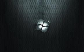 Wallpaper texture, Windows, logo