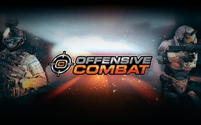 Wallpaper game, the game, 2.0, soldiers, soilder, browser, weapons, light, 4game, fogeym, Offensive Combat, browser, Innova, ...