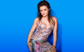 Picture photoshoot, Lucy Hale, Cosmopolitan, June 2014