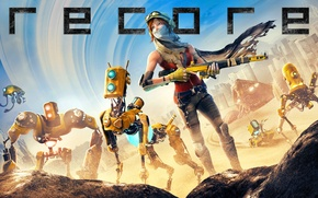 Picture Robot, Weapons, Game, Comcept, ReCore, Armature Studio