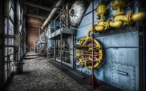 Picture background, plant, factory