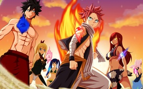 Picture fire, flame, game, nothing, anime, cat, pretty, tatoo, dragon, asian, manga, wizard, Happy, japanese, Fairy …