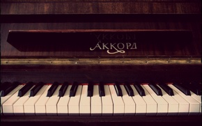Picture keys, piano, Piano