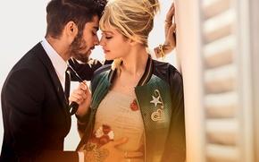 Wallpaper Gigi Hadid, Gigi Hadid, Zayn Malik, Zayn Malik, lovers, model