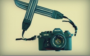 Picture background, camera, Ricoh KR-10