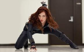 Wallpaper Scarlett Johansson, iron man, Scarlett Johansson, iron man2