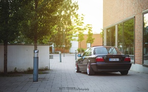 Picture tuning, BMW, BMW, tuning, Boomer, stance, stens, E38, E38