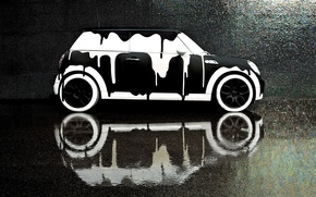 Picture Style, Mini Cooper, Car, Auto