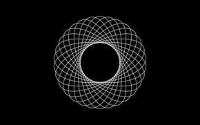 Picture strip, round, vector