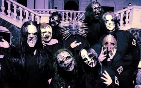 Wallpaper Metal, Slipknot, Nu-Metal, Nu metal, Slipnot, Corey Taylor, Jim Root, Paul Gray, Sid Wilson, Mick ...