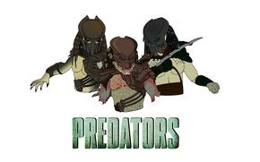 Picture hunters, Predators, Berserkers