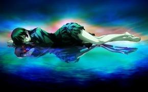 Picture reflection, anime, art, manga, Twilight Virgo and Amnesia