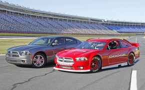 Picture Dodge Charger, Cup, NASCAR, Sprint