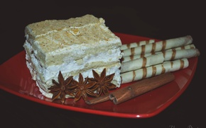 Picture food, tube, Cake, star anise