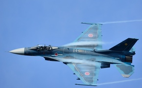 Picture flight, fighter, Mitsubishi, bomber, Japanese, F-2A