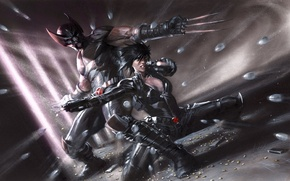 Picture Wolverine, Marvel, comics, Domino, X-Force: Sex and Violence