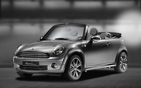 Picture Auto, Tuning, Silver, Mini Cooper, MINI, The front, Mini Cooper