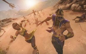 Picture chase, arrows, Mortal Kombat, Tanya, Reyn