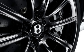 Wallpaper Bentley, Continental GT, disk, wheel