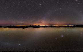 Picture The milky way, Atacama., Canary, Ostrava, the sky, stars
